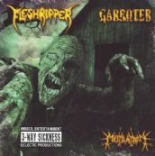 FLESHRIPPER – GARROTER  - MUTILATION  3 WAY CD